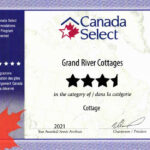 Canada 3½ stars cottage selection